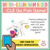 Go Fish Consonant -LE Game