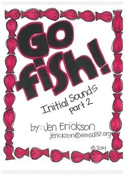 Go Fish! (Initial Sounds part 2)