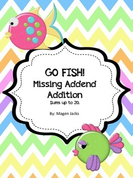 Go Fish!  Missing Addends