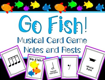 Go Fish! Notes and Rests Edition