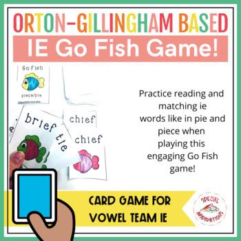 Go Fish Piece/Pie (ie words)
