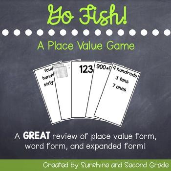 Go Fish Place Value