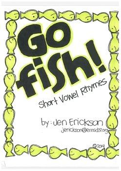 Go Fish! (Short Vowel Rhymes)