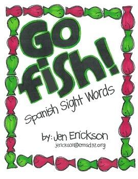 Go Fish! (Spanish Sight Words)