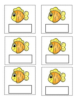 Go Fish Template