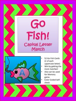 Go Fish! Uppercase Letters