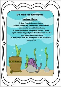 Go Fish for Synonyms