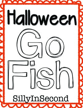 Go Fishing for Halloween Words