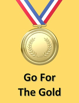 Go For The Gold in Microsoft Word – Used For a Race or the