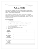 Go Green Project!