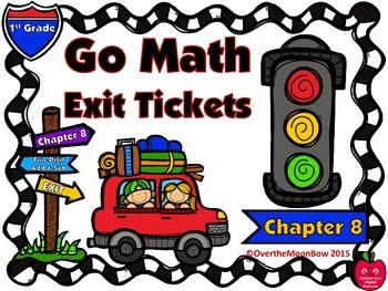 Go Math 1st Grade Exit Tickets – Chapter 8: Two-Digit Addi