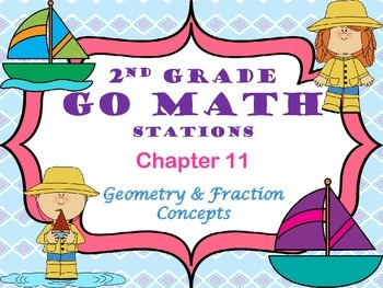 Go Math ~ 2nd Grade Chapter 11 Math Centers/Stations ~ Com