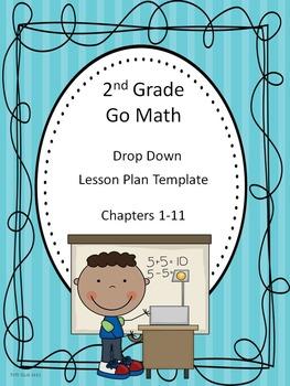 Go Math 2nd Grade Drop Down Lesson Plan Template