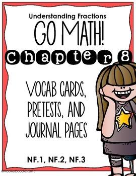 Go Math! 3rd Grade Chapter 8 Understanding Fractions Resou