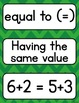 Go Math 3rd Grade Vocabulary Packet - Chapters 8-9: Defini