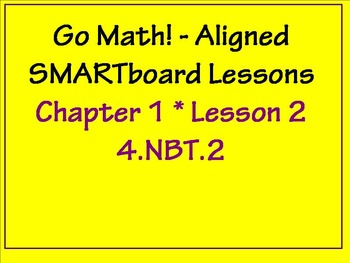 Go Math Aligned Chapter 1 Lesson 2   4.NBT.2