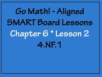 Go Math Aligned - Chapter 6 Lesson 2 Generate Equivalent F