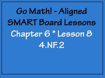 Go Math Aligned - Chapter 6 Lesson 8 4.NF.2  Order Fractions