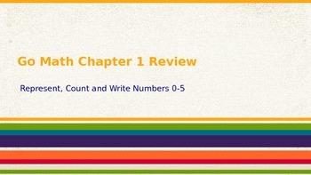 Go Math Chapter 1 Review - Kindergarten