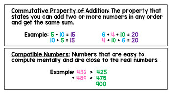 Go Math Chapter 1 Vocabulary and References