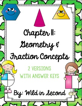 Go Math Chapter 11 Review for Second Grade