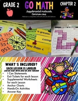 Go Math!  Chapter 2 Second Grade Common Core Resources