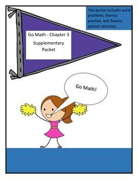 Go Math Chapter 3 Supplementary Packet, Grade 4