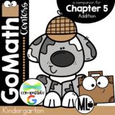 Go Math! Chapter 5 Centers for KINDERGARTEN!