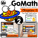 Go Math! Chapter 5 Centers for Second Grade
