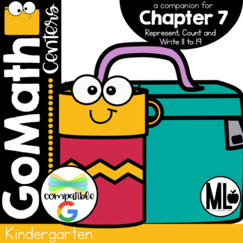 Go Math! Chapter 7 Centers for KINDERGARTEN!