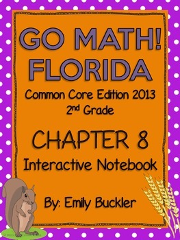Go Math Chapter 8 Interactive Notebook