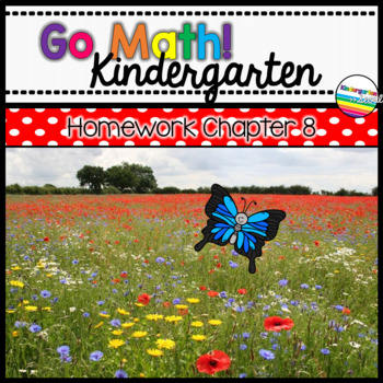 Go Math! Chapter 8 Kindergarten Homework
