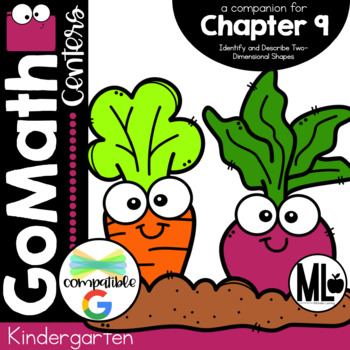 Go Math! Chapter 9 Centers for KINDERGARTEN!