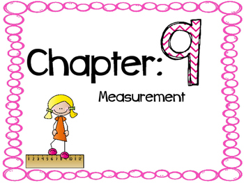 Go Math Chapter 9 Vocabulary Cards