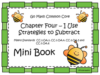 Go Math Chapter Four Mini Book
