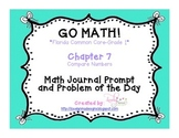 GoMath!(1st grade)FLA Common Core Chapter 7 Journal Prompt