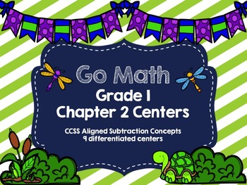 Grade 1 Chapter 2 Centers- Subtraction Concepts