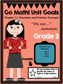 Go Math Grade 2 Chapter 11: Geometry and Fraction Concepts