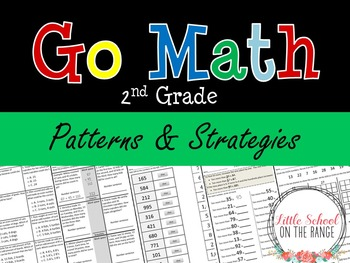 Go Math Second Grade: Chapter 13 Supplement - Patterns and