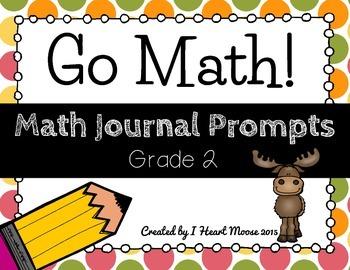 Go Math 2012 Grade 2 Math Journal Prompts