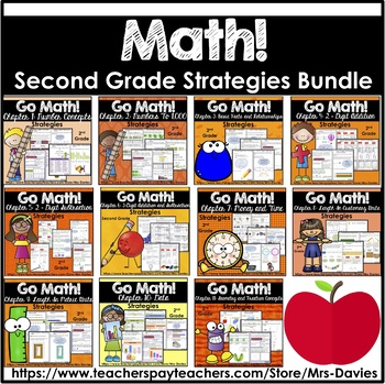 Go Math! Grade 2 Strategies Reference Book Bundle