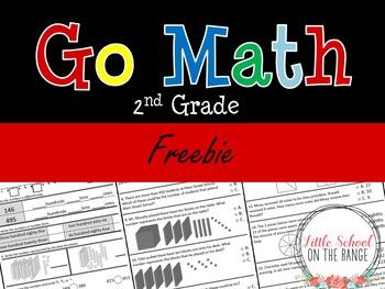 Go Math Second Grade: FREEBIE