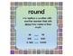 Go Math! Grade 3 Chapter 1 Vocabulary Cards