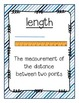 Go Math! Grade 3 Chapter 11 Vocabulary Cards