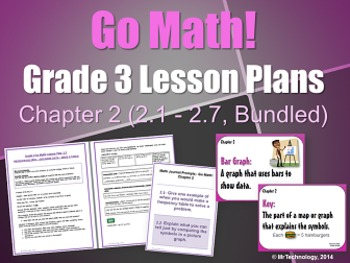 Go Math Grade 3 Chapter 2 Lesson Plans, Journal Prompts &