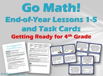 Go Math  Grade 3:Getting Ready for 4th Grade Lessons 1-5 w