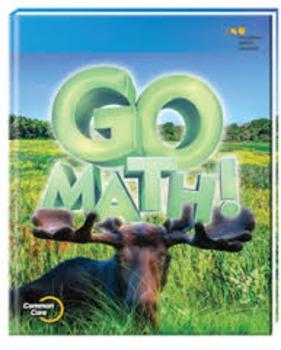 Go Math Grade 3 ch 6 SmartBoard Slides 2015 edition