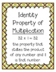 Go Math Grade 4 Chapter 8 Vocabulary Posters