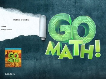 Go Math Grade 5 Chapter 7 Problem of the Day Powerpoint