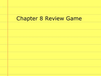 Go Math Grade 5 Chapter 8 Activinspire Review Game Activot